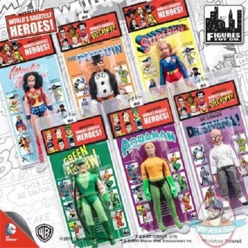 DC Comics Retro Kresge Style Figures Series 2 Set of 6 Figures Toy