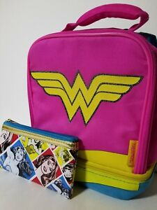 Wonder Woman Dual Lunch Bag with Cape by Thermos