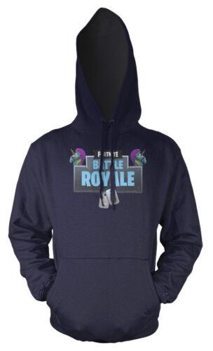Gaming Battle Royale Rainbow Unicorn Kids Hoodie