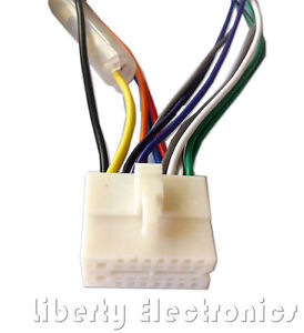 new wire harness connector for clarion dxz735mp ebay rh ebay com Clarion Car Stereo Wiring Harness Diagram Clarion Car Stereo Wiring Harness Diagram