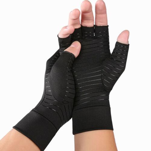 Therapeutic Arthritic Fingerless Compression Gloves Arthritis Therapy