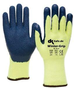 Winterhandschuhe-Arbeitshandschuhe-Handschuhe-Moltonfutter-Winter-Gr-11-2-Paar