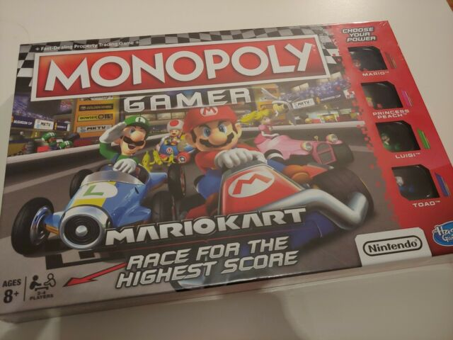 Monopoly E1870102 Gamer Mario Kart Neu & OVP