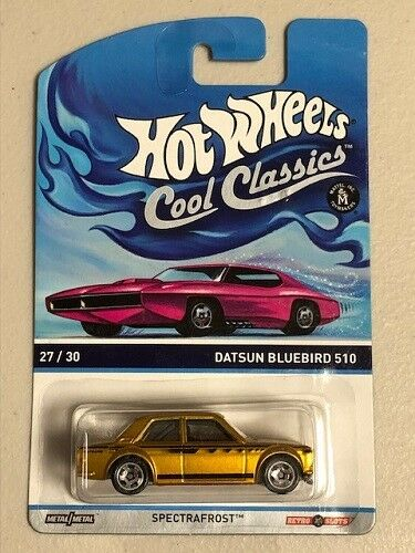 autentico online Calienteruedas 2013 Datsun blubird 510 spectrafrost Cool Cool Cool classeics  vieni a scegliere il tuo stile sportivo