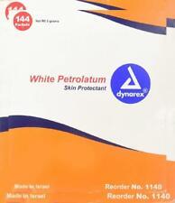 Packets White Petrolatum Petroleum 4 Emergency//Survival:  LOT of 5 Gram