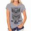 Moda-Mujeres-Mangas-Cortas-Camiseta-Camisas-Prendas-para-el-torso-Blusa-Informal-Camiseta-para-mujer miniatura 11