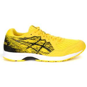ASICS Men's LyteRacer Running Shoes Tai-Chi Yellow/Black 1011A173.750 NEW