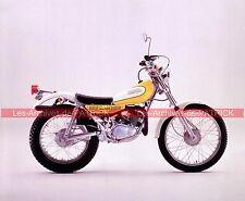 YAMAHA TY 250 1974 Fiche Moto 000101