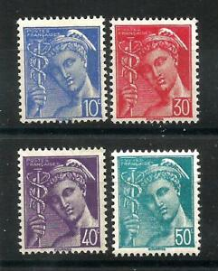 FRANCE-1942-YT-n-546-a-549-neufs-Luxe-MNH