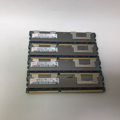 Lot of 4 HYNIX 2RX4 PC3-10600 ECC SERVER MEMORY HMT151R7BFR4C-H9