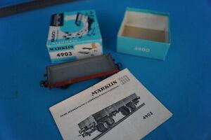 Marklin-4903-DB-Flat-Car-60-ies-Build-Kit