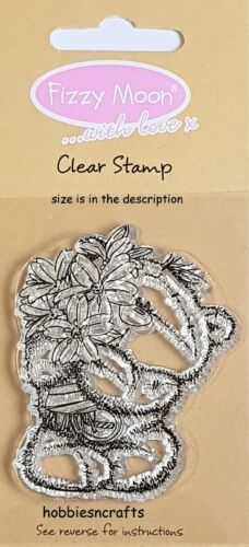 Silikon Christmas Transparent Clear Stamp Cling Diary Scrapbooking DIY Gift T4O5