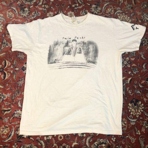 Twin Peaks T Shirt Mens Size Large David Lynch Rar