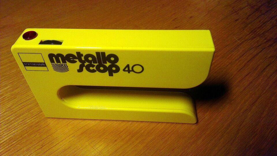 Måleudstyr, Metallo Scoop 40