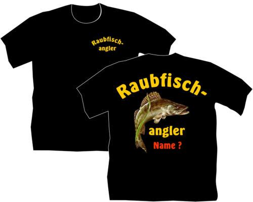 Raubfisch Angler T-Shirt Zander Angeln Köder Zanderangeln Bekleidung Motive 83