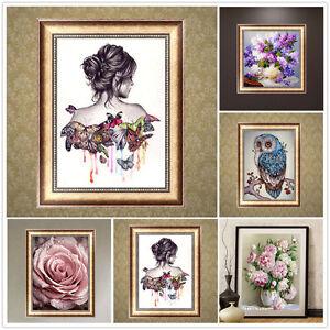 Art-Decor-DIY-5D-Diamond-Painting-Butterfly-Beauty-Embroidery-Cross-Stitch-Decor