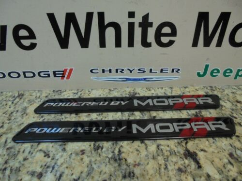 Challenger Charger Engine Cover 345 Inserts Hemi Mopar 2 Pcs Black /& Red Powered