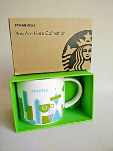 Details About Starbucks You Are Here Collection Seattle Brand New In The Box