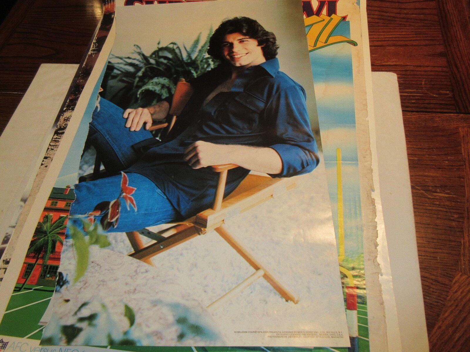 "John Travolta , POSTER , 17"" x 28"" , 1978"