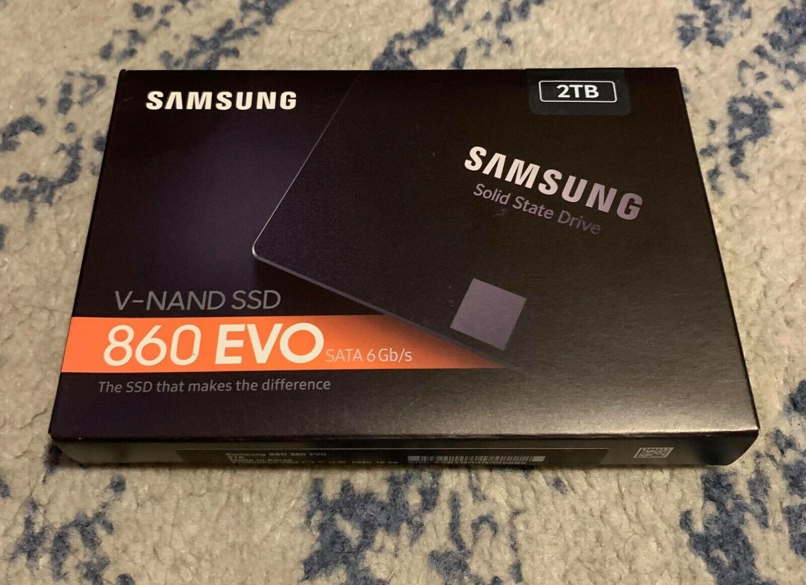Samsung 860 EVO 2TB Solid State Drive SATA III Internal SSD - FACTORY SEALED!. Buy it now for 208.00