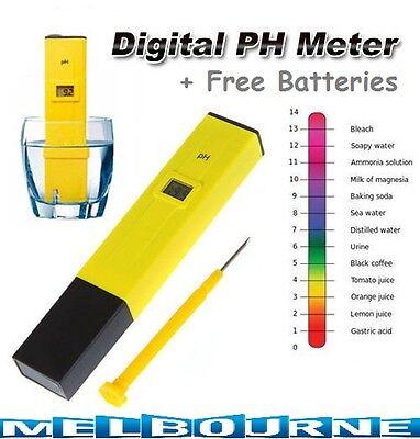Pool Water Digital PH Meter Pocket Tester Measure Pen SPA Aquarium Fish Tank #SC
