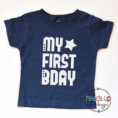 Kids First Birthday Bodysuit Boy/'s Birthday One Piece 1st Birthday Unisex Girl/'s Birthday Shirt First Birthday Shirt Cake Smash Outfit