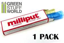 Milliput Yellow Grey (Standard) Milliput Epoxy Putty 4oz (113.4 G) Warhammer