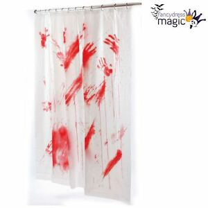 Image Is Loading New Halloween Horror Psycho Blood Bloody Bathroom Bath