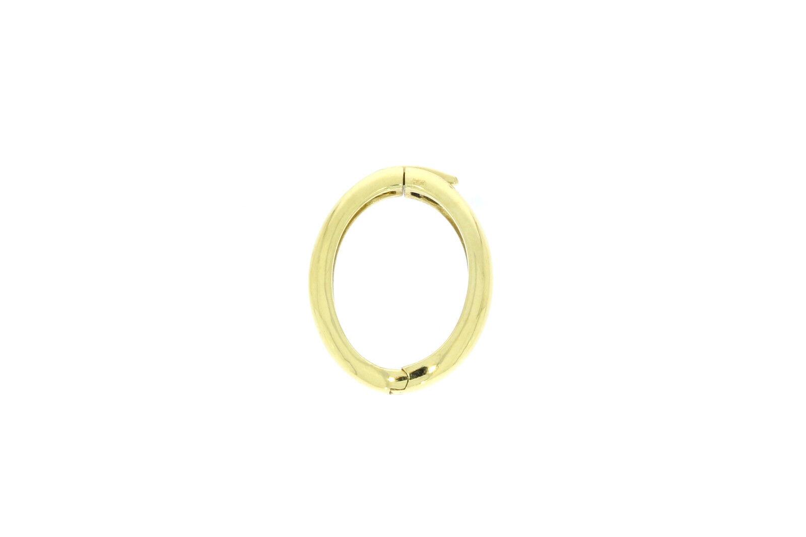 A1490-585er yellowgold Schloß für Perlenkette 22x2 mm Gewicht 2,6 Gramm