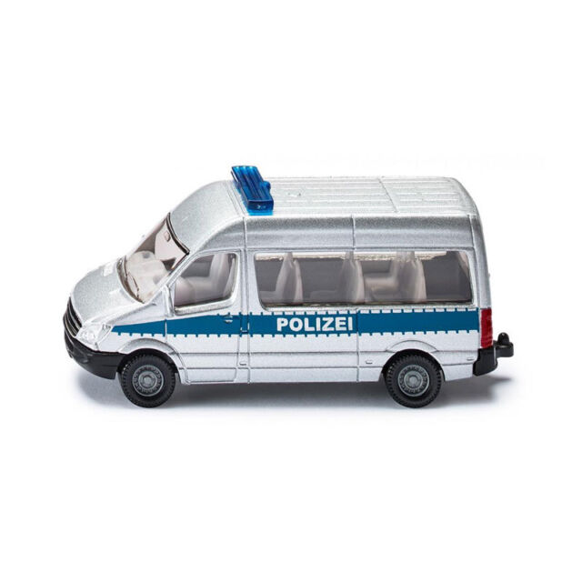 "Siku 0804 Mercedes Benz Sprinter "" Veicolo di Servizio "" Argento/Blu (Blister)"