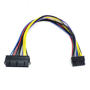 24Pin 24P to 14Pin ATX Power Supply Cord Adapter cable for Lenovo IBM Dell H81