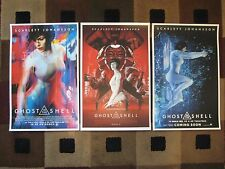 """Ghost in the Shell - 2017 (11"""" x 17"""") - Collector's Poster Prints ( Set of 3 )"""