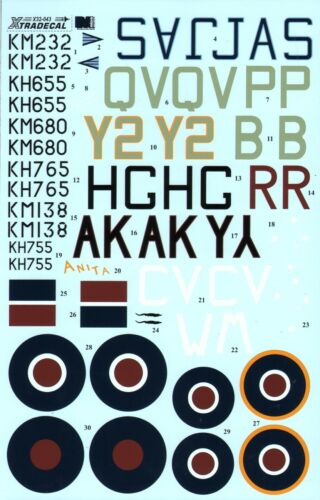 NEW 1:32 Xtradecal X32043 North-American P-51D Mustang Mk.IV
