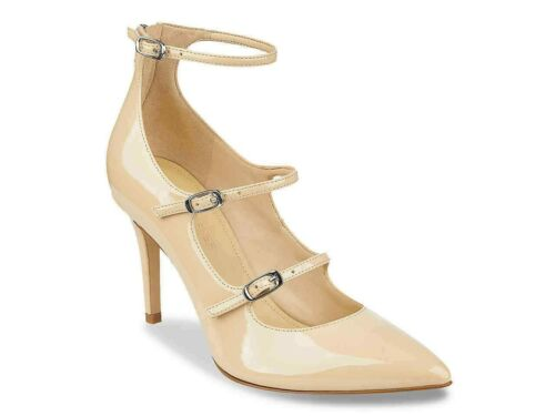 Marc Fisher Daily Beige Patent Pumps size 8.5