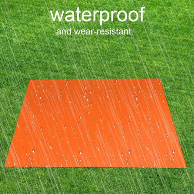 Outdoor Waterproof Thermal Emergency Rescue Folding Military Survival Blanket