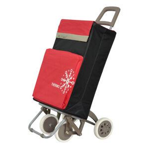 Carro-de-Compra-4-Ruedas-2-Bolsillos-uno-para-congelados-negro-y-rojo-envios-24