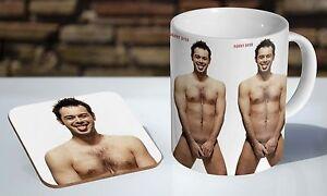 Danny-Dyer-Naked-Tea-Coffee-Mug-Coaster-Gift-Set