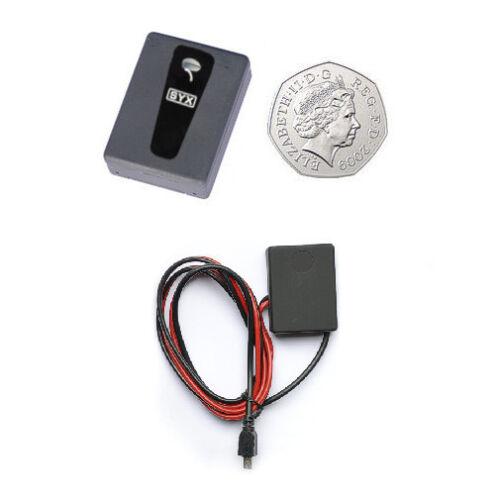 GSM wireless spy surveillance bug microphone with car power adaptor