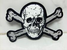 Aufnäher Aufbügler Patch Pirat Totenkopf - 7 x 10 cm