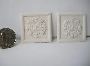 Dollhouse Miniature Cast Resin Wall Applique A44