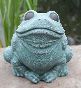 Statue de Pierre Grenouille Décoration pour bassin Figurine jardin ...