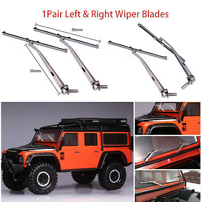 Car Windshield Wiper Blades for 1//10 RC Traxxas TRX4 Land Rover Defender