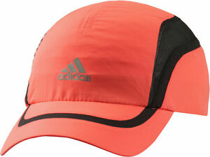 on sale 64432 0d84a Details about Adidas ClimaCool Running Cap Red Mesh Ventilated Adjustable  Summer Sports Hat