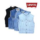 Vintage LEVIS sans col sans manche veste en jeans gilets XS, S, M, L, XL,XXL