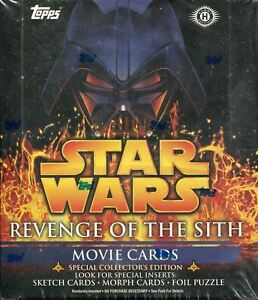 Star Wars Revenge Of The Sith Factory Sealed Hobby Box Ebay