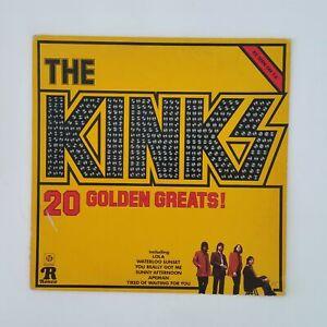 THE-KINKS-20-Golden-Greats-RPL2031-Mono-LP-Vinyl-VG-near