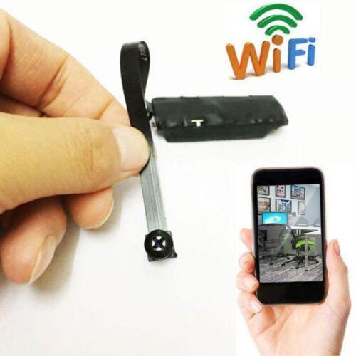 Wireless Digital Video Remote Camera Hidden Spy Cam Mini DVR Wifi IP Module