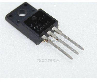 5Pcs FQPF10N60C Fqpf 10N60C 10N60 600V 10A N-Channel Mosfet TO-220F Ic New