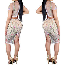 NEW Women's Bandage Bodycon Sleeveless Evening Party Cocktail Club Short Dress
