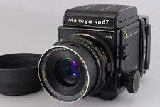 Mamiya RB67 ProS Medium w/90mm Lens,Motorized Holder from Japan 183